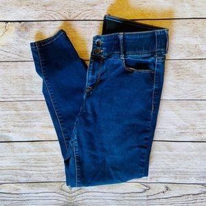 14 Short Blue Skinny Jeans